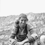 1980. Peter von Gaza (US) at Arapiles. I'd climbed with Peter in Yosemite Valley and he had decided to visit Araps and see what all the fuss was about. A great bloke and a genuine character, ...