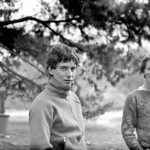 1981. Jeff Shrimpton and Doug Fyfe. The pines at Arapiles.