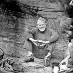 1981. Dennis Kemp at Black Ians Rocks, Grampians National Park. Paul Daniels making a cup of tea. In many ways Dennis was a father figure to me. He taught me that there was no real generatio ...