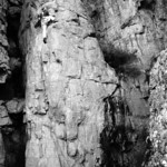 1980. Glenn Tempest leading a route called Yesterdays Rooster (21, 5.10d). According to the current Mt Arapiles guide Yesterdays Rooster was first climbed in January 1999 after two bolts wer ...