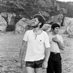 1981. Robin Miller and Malcolm (HB) Matheson in the boulders at Mt Arapiles.