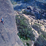 Ian Vickers (UK) leading Redbacks (23), the Hump, Mt Buffalo, Victoria, Australia.